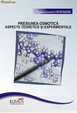 Publica cartea ta la Editura Stiintifica Lumen CONDURACHE Presiunea osmotica