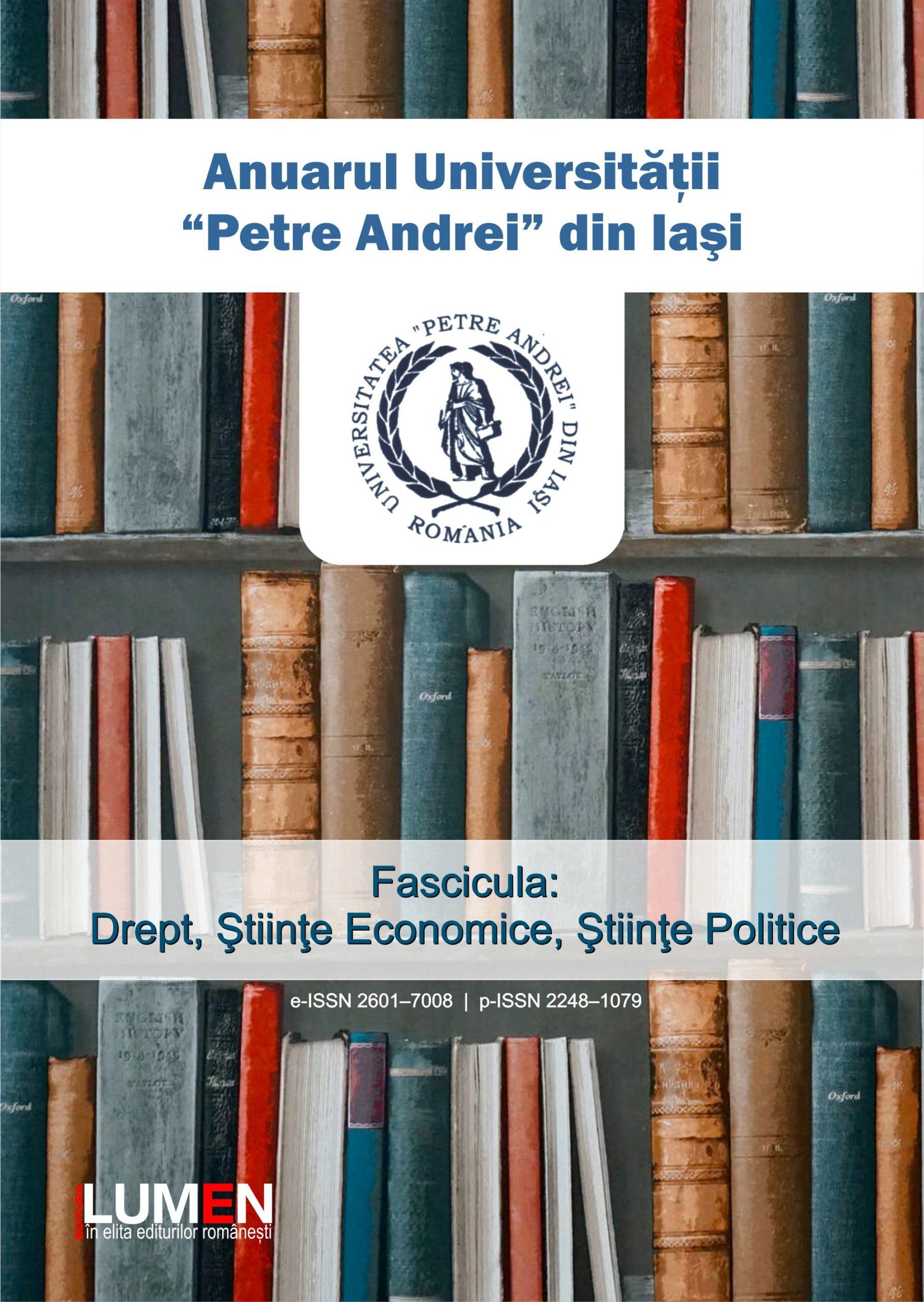 Publica cartea ta la Editura Stiintifica Lumen Cover Anuar UPA Drept 2019 scaled