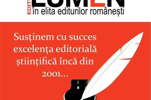 Publica cartea ta la Editura Stiintifica Lumen Favicon LUMEN