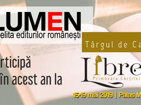 Publica cartea ta la Editura Stiintifica Lumen LUMEN la LIBREX FB event