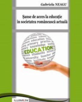 Publica cartea ta la Editura Stiintifica Lumen NEAGU Sanse de acces