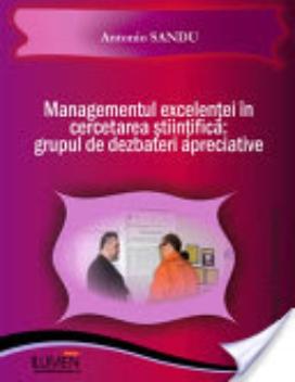 Publica cartea ta la Editura Stiintifica Lumen SANDU Managementul cercetarii
