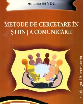 Publica cartea ta la Editura Stiintifica Lumen SANDU Metode de cercetare