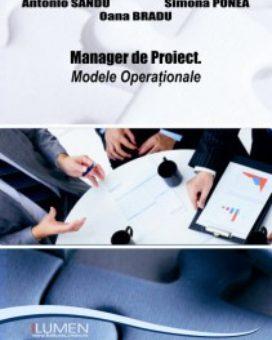 Publica cartea ta la Editura Stiintifica Lumen SANDU Modele operationale