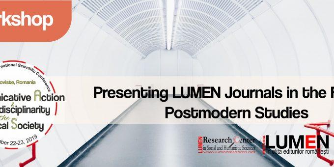Publica cartea ta la Editura Stiintifica Lumen W14 Postmodern journals