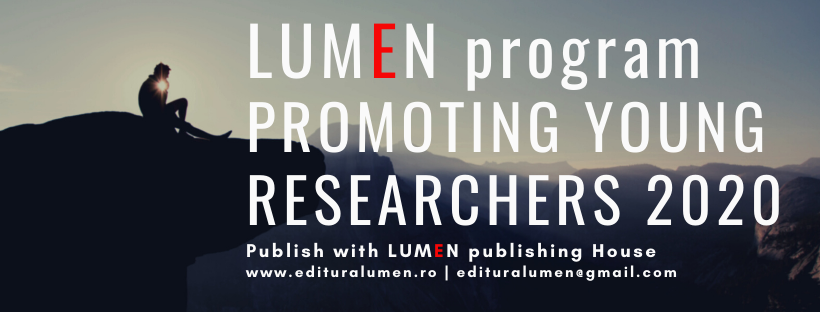 Publica cartea ta la Editura Stiintifica Lumen Promoting Young Researchers 2020 1