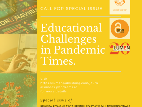 Publica cartea ta la Editura Stiintifica Lumen educational in pandemic times