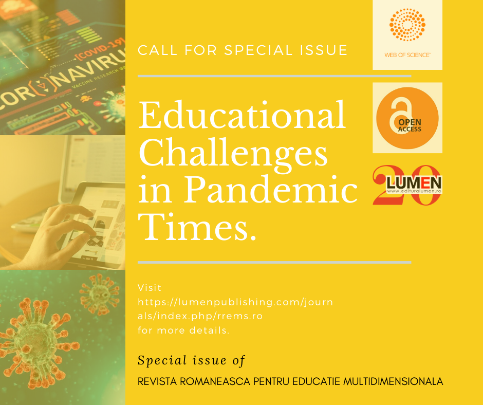 Publish your work with LUMEN educational in pandemic times