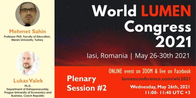 Publica cartea ta la Editura Stiintifica Lumen Plenary session 2