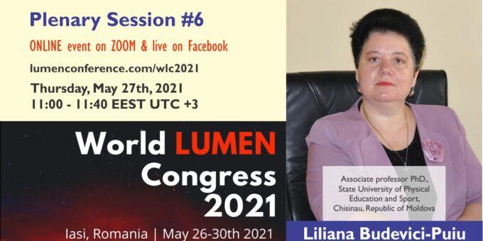 Publica cartea ta la Editura Stiintifica Lumen Plenary session 6 v2