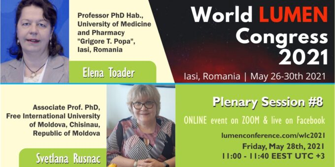 Publica cartea ta la Editura Stiintifica Lumen Plenary session 8 new